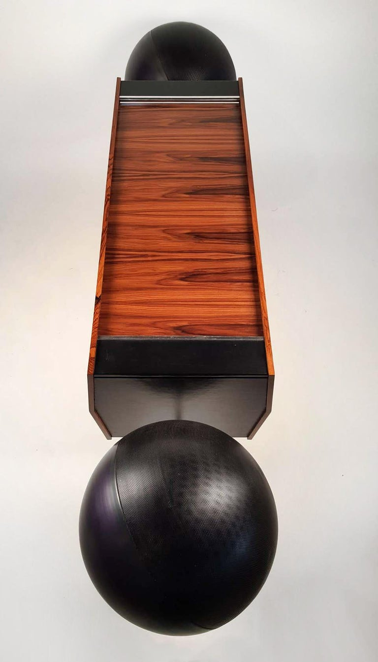 Clairtone Project G 1 T4 Rosewood Stereo System First Generation by Hugh Spencer For Sale 1