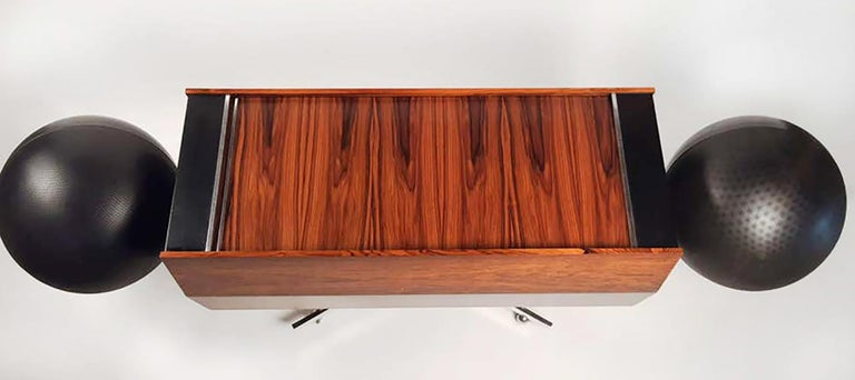 Clairtone Project G 1 T4 Rosewood Stereo System First Generation by Hugh Spencer For Sale 2