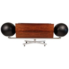 Clairtone Project G 1 T4 Rosewood Stereo System First Generation by Hugh Spencer