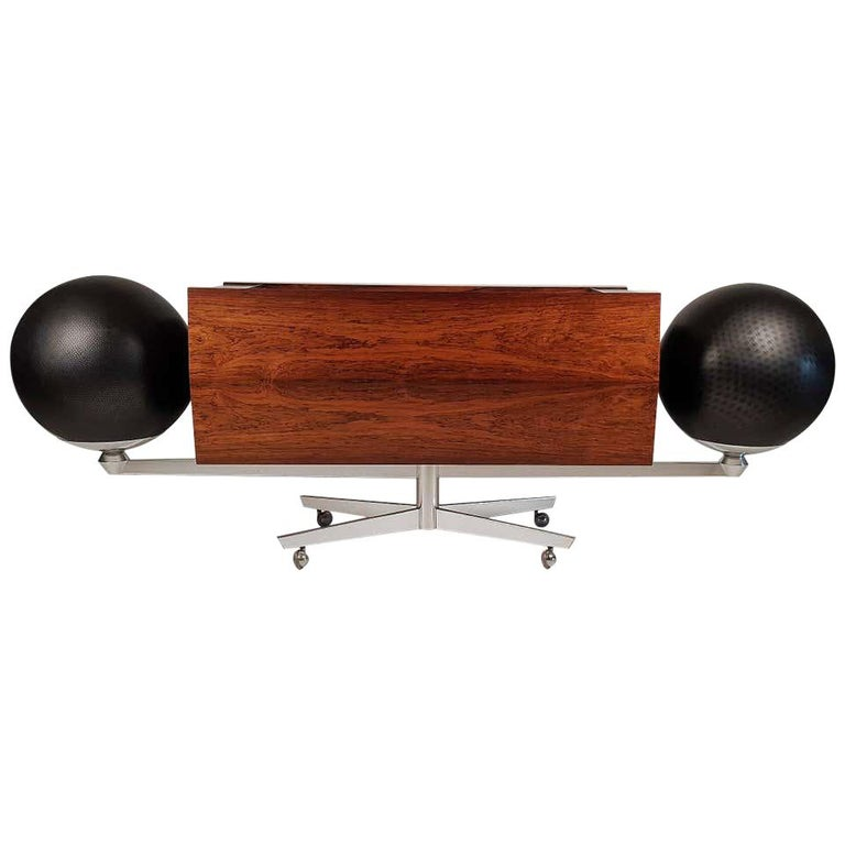 Clairtone Project G 1 T4 Rosewood Stereo System First Generation by Hugh Spencer For Sale