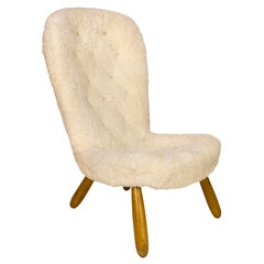 Clam Chair by Philip Arctander, circa 1940, Denmark
