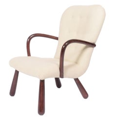 'Clam' Easy Chair Attributed to Philip Arctander