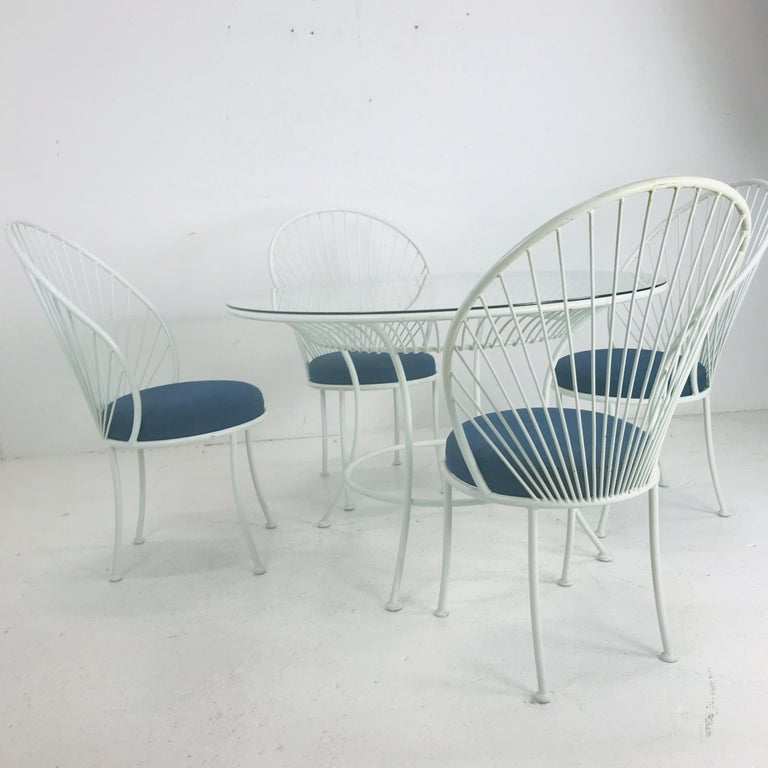 Clamshell Patio Set in Style of Salterini For Sale 1