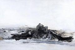 El Matador- Large Textured Abstract Painting