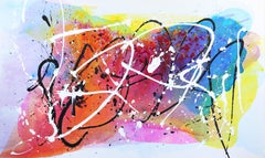 Monet Fields - Oversized Energetic Colorful Original Artwork on Canvas