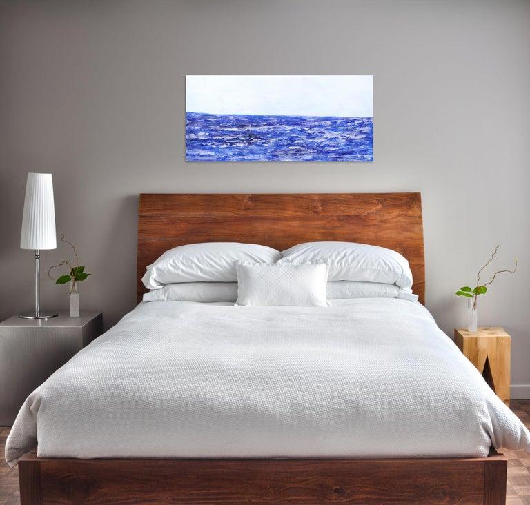 Oceanside - Painting by Clara Berta
