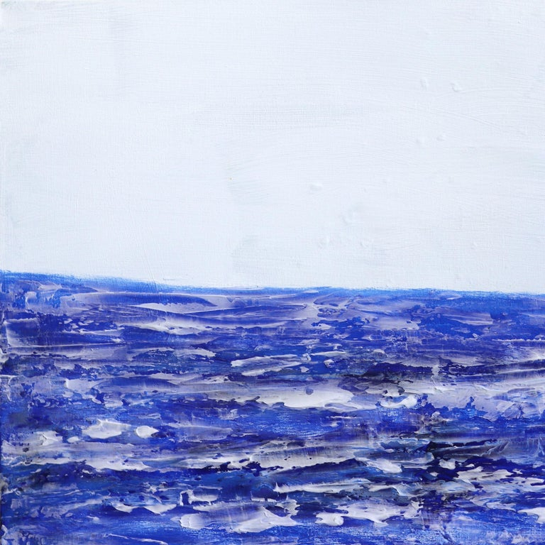 Oceanside - Abstract Painting by Clara Berta