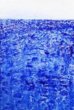 South Bay - Large Textured Abstract Painting