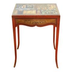 Clara Fargo Thomas Art Deco Persian Style Paint Decorated Dressing Table
