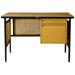 Clara Porset Steel Desk for DM Nacional Company
