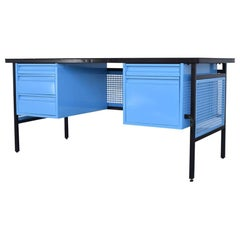 Clara Porset Steel Desk for DM Nacional