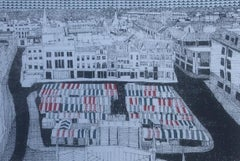 Clare Halifax, Cambridge Market, Affordable limited edition prints