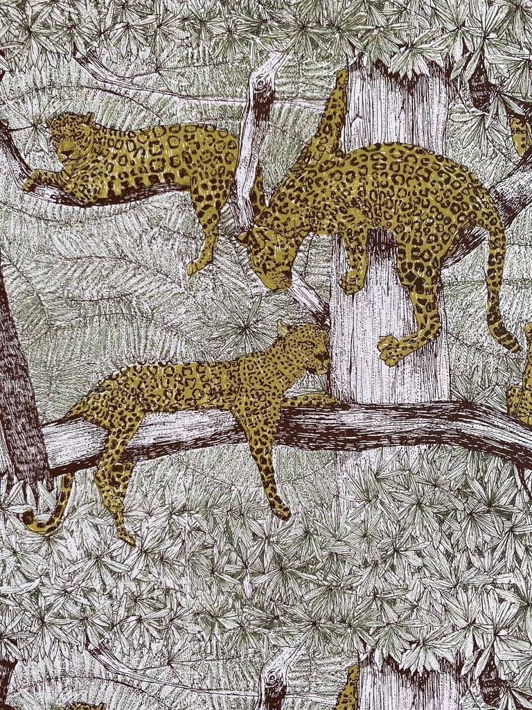 Clare Halifax, L is for Leopard, Alphabet Art. Limited Edition Art, Bright Art For Sale 4