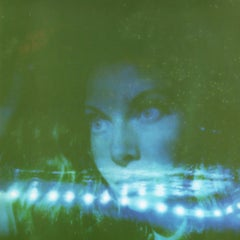 Blue - Contemporary, Polaroid, Photograph, Figurative, Portrait