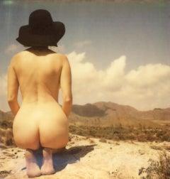 Cloud Nine - Contemporary, Polaroid, Woman, 21st Century, Nude, Psychiatry