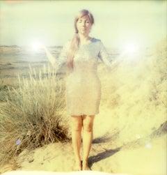 Desert Dream - Contemporary, Polaroid, Photograph, Figurative, Portrait
