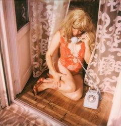 Dial Zero - Contemporary, Polaroid, Woman, 21st Century,