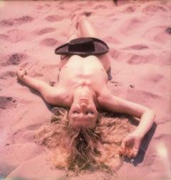 Dreams in Alpha - Contemporary, Polaroid, Woman, 21st Century, Nude, Psychiatry