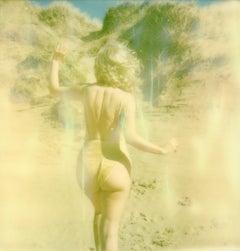 Golden - Contemporary, Polaroid, Nude, Figurative, Woman, 21st Century