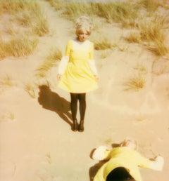 Look both Ways - Contemporary, Polaroid, Woman, 21st Century, Psychiatry