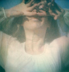 Miranda - Contemporary, Polaroid, Figurative, Woman, 21st Century, Psychiatry