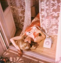 Morning Slumber - Contemporary, Polaroid, Woman, 21st Century,
