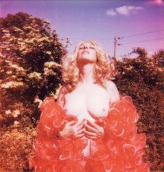 Scarlett - Contemporary, Polaroid, Woman, 21st Century