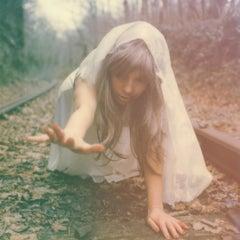Strange Occurance at the Dingle - Contemporary, Polaroid, Woman, Psychiatry