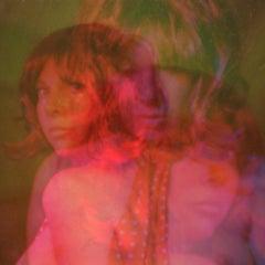 Sun in Pisces - Contemporary, Polaroid, Women, Figurative, Portrait