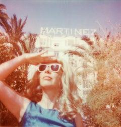 Super Cannes (40x40cm) - Contemporary, Polaroid, Figurative, Portrait