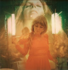 The Red Night - Contemporary, Polaroid, Woman, Psychiatry