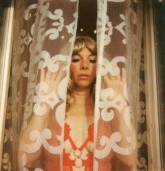Through the Veil - Contemporary, Polaroid, Woman, 21st Century,
