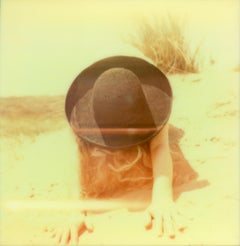 To the Desert a Daughter - Contemporary, Polaroid, Woman, 21st Century,