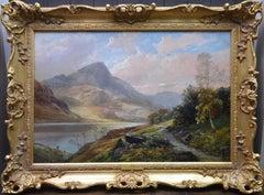 Loch Shiel - 19th Century Landscape Oil Painting of Scottish Highlands