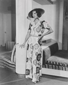 Eleanor Powell Fashion Portrait Globe Photos Fine Art Print