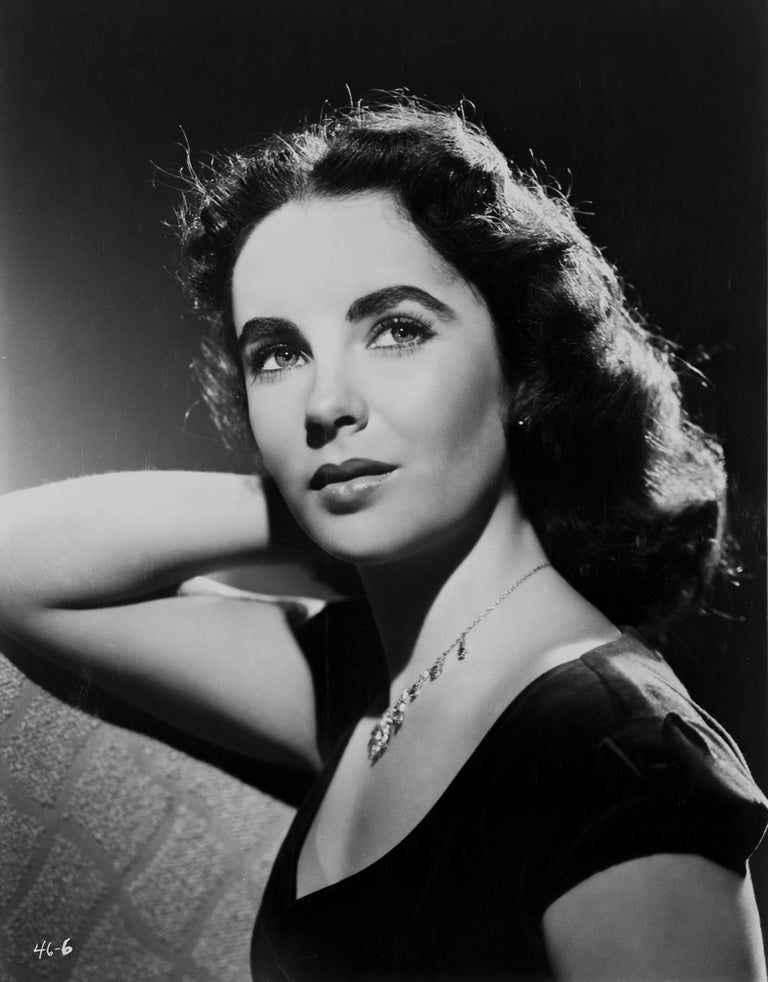 Clarence Sinclair Bull Black and White Photograph - Elizabeth Taylor Movie Star News Fine Art Print