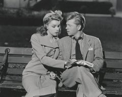 Judy Garland and Mickey Rooney Fine Art Print