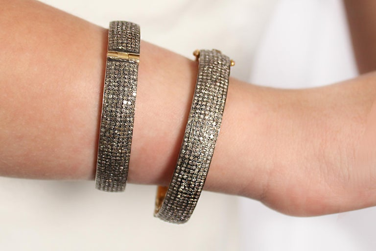 Clarissa Bronfman Diamond Bracelet In New Condition For Sale In New York, NY