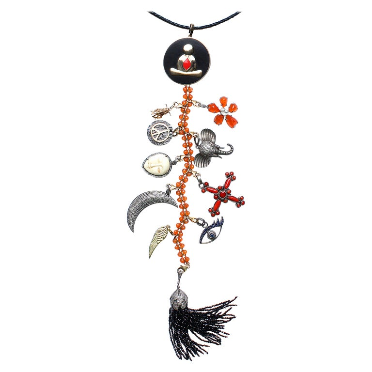 """Clarissa Bronfman """"Got to Have You To Myself"""" Symbol Tree Necklace/Bracelet For Sale"""