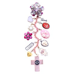 "Clarissa Bronfman ""Pink Martini"" Symbol Tree Necklace"