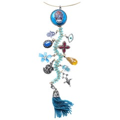 Clarissa Bronfman Signature 'Eternal Fun' Symbol Tree Necklace