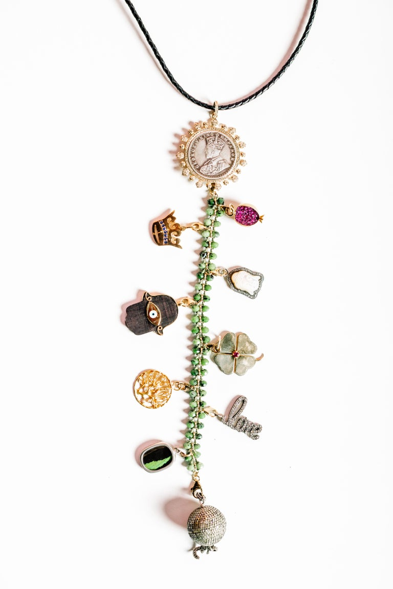 Clarissa Bronfman Signature Symbol Tree Necklace 4