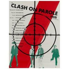The Clash Original Vintage Tour Poster, British, 1978
