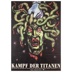 Clash of the Titans 1985 East German Film Movie Poster