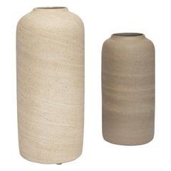 Clásico Set of Two Handmade Ceramic Vessels