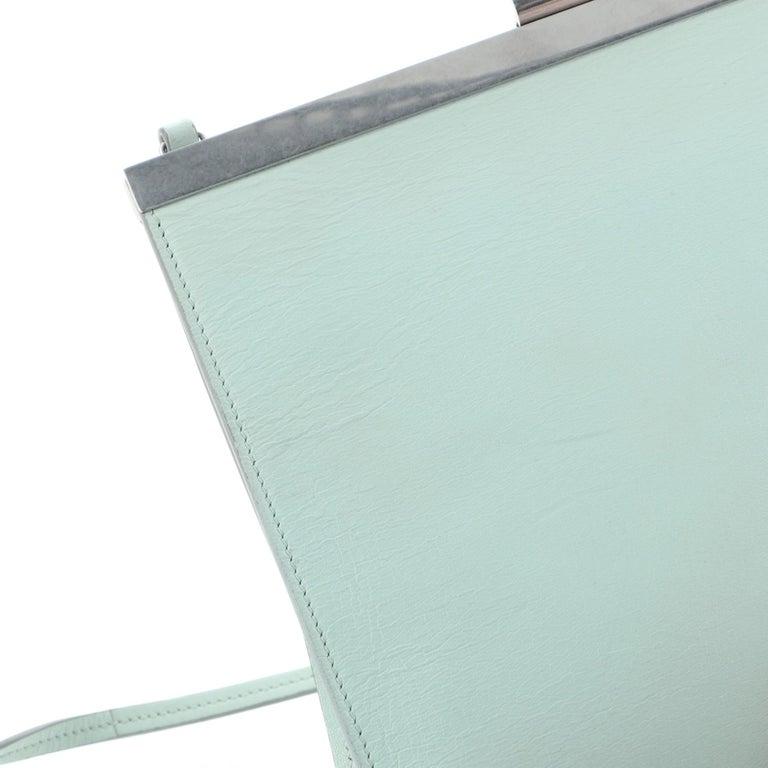 Clasp Crossbody Bag Leather Mini For Sale 3