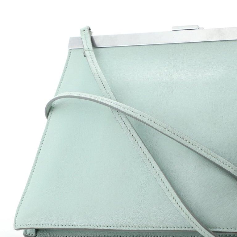 Clasp Crossbody Bag Leather Mini For Sale 4