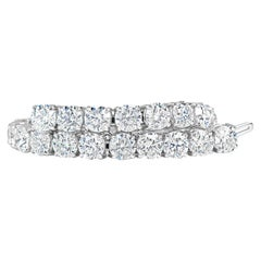 Classic 12.00 Carat Diamonds Tennis Bracelet