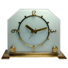 Classic 1930s Art Deco Mantel Clock by Goblin