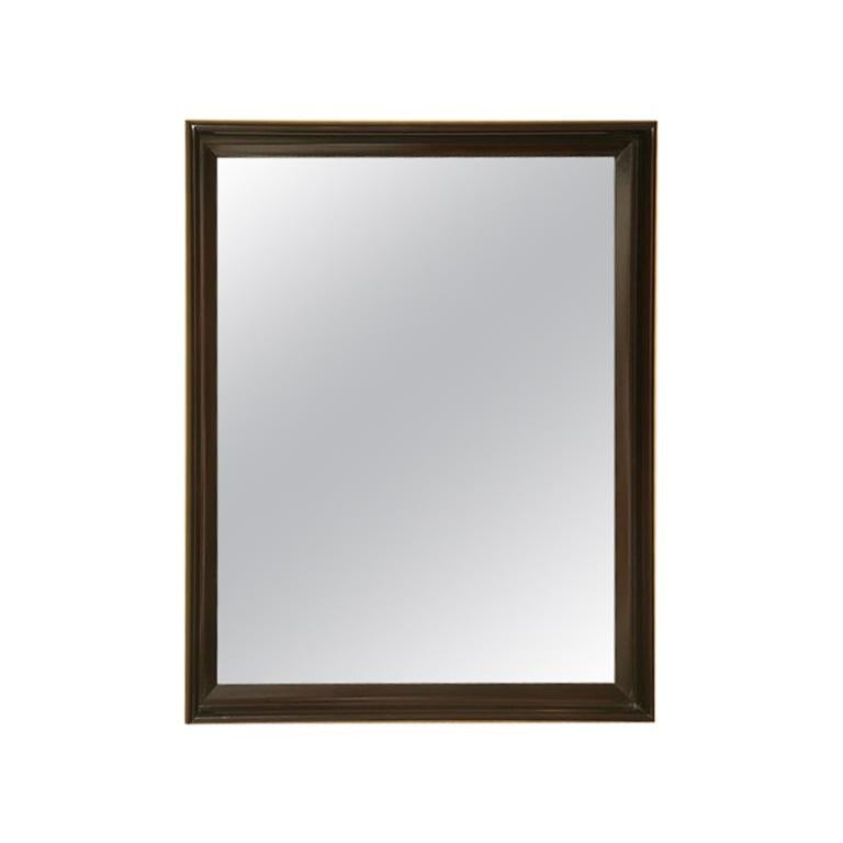 Classic 1940s Paul Frankl Mirror for Johnson Furniture For Sale